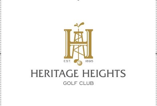 Heritage Height's Golf Club Logo