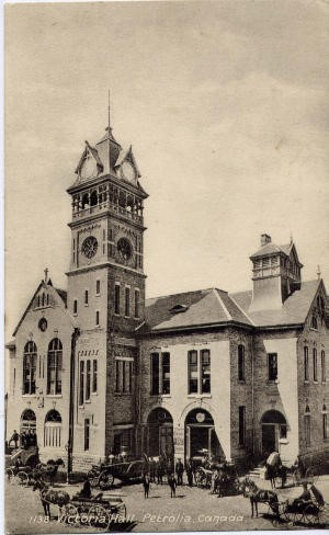 Early Victoria Hall Photo