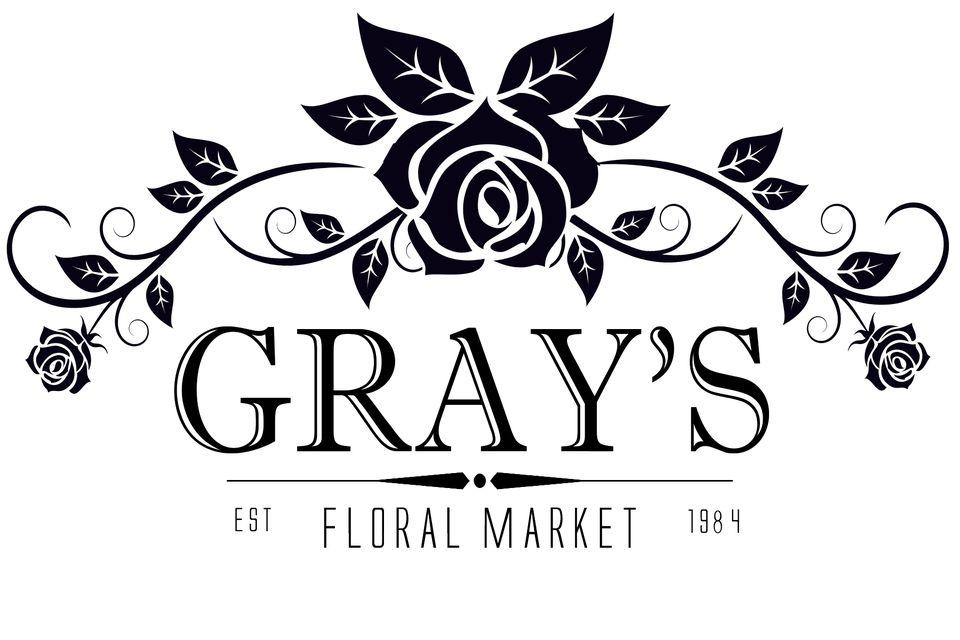 Gray's Floral Market Logo