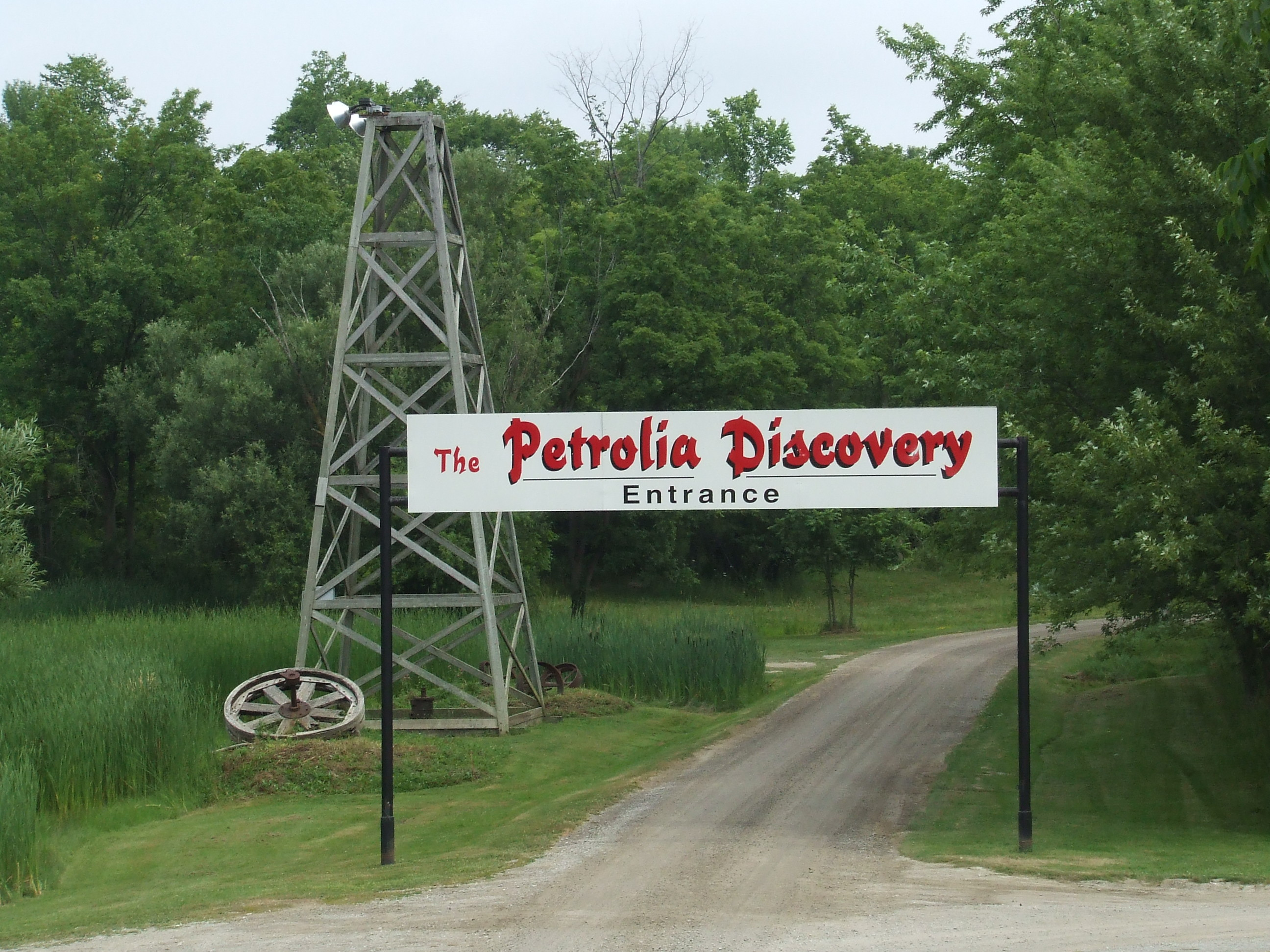Petrolia Discovery Logo