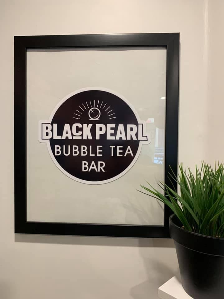 Black Pearl Bubble Tea Logo